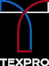 Teollisten teknisten kuitutuotteiden valmistaja Texpro:n Yrityksen Logo